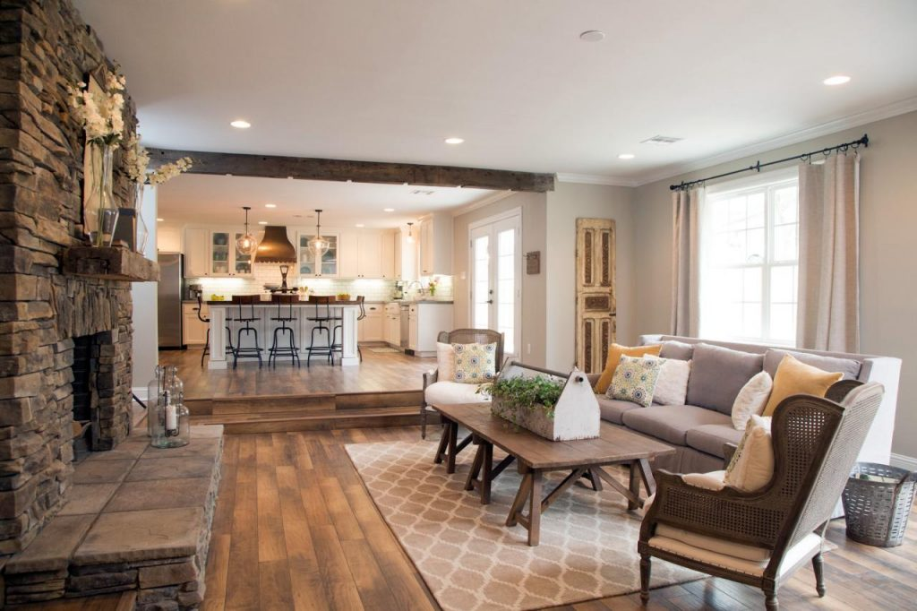 Fixer upper style a house and a dog for Joanna gaines living room ideas
