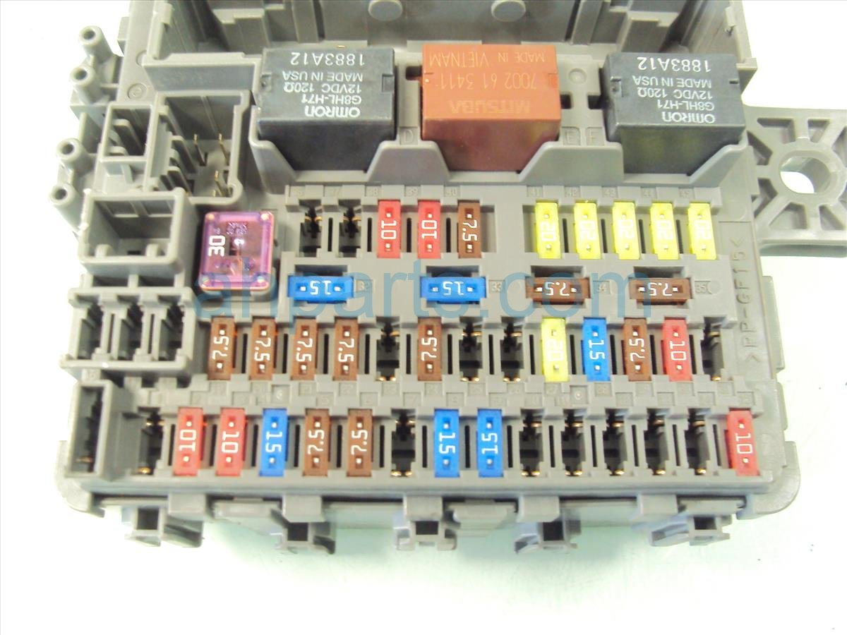 Dash Fuse Box Auto Electrical Wiring Diagram 95 Honda Civic