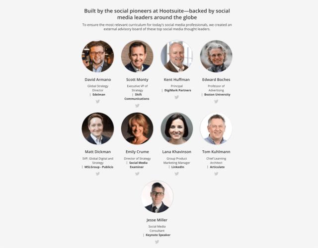 Hootsuite Advisory Board