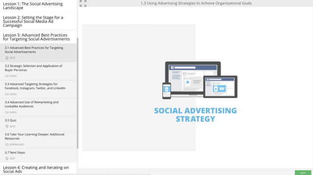 Social Advertising Strategy