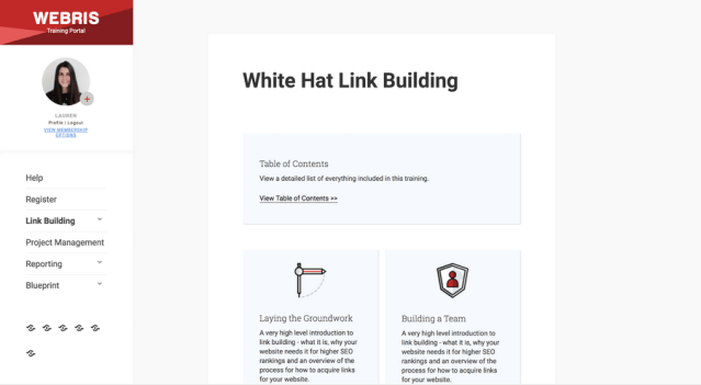 White Hat Link Building Course