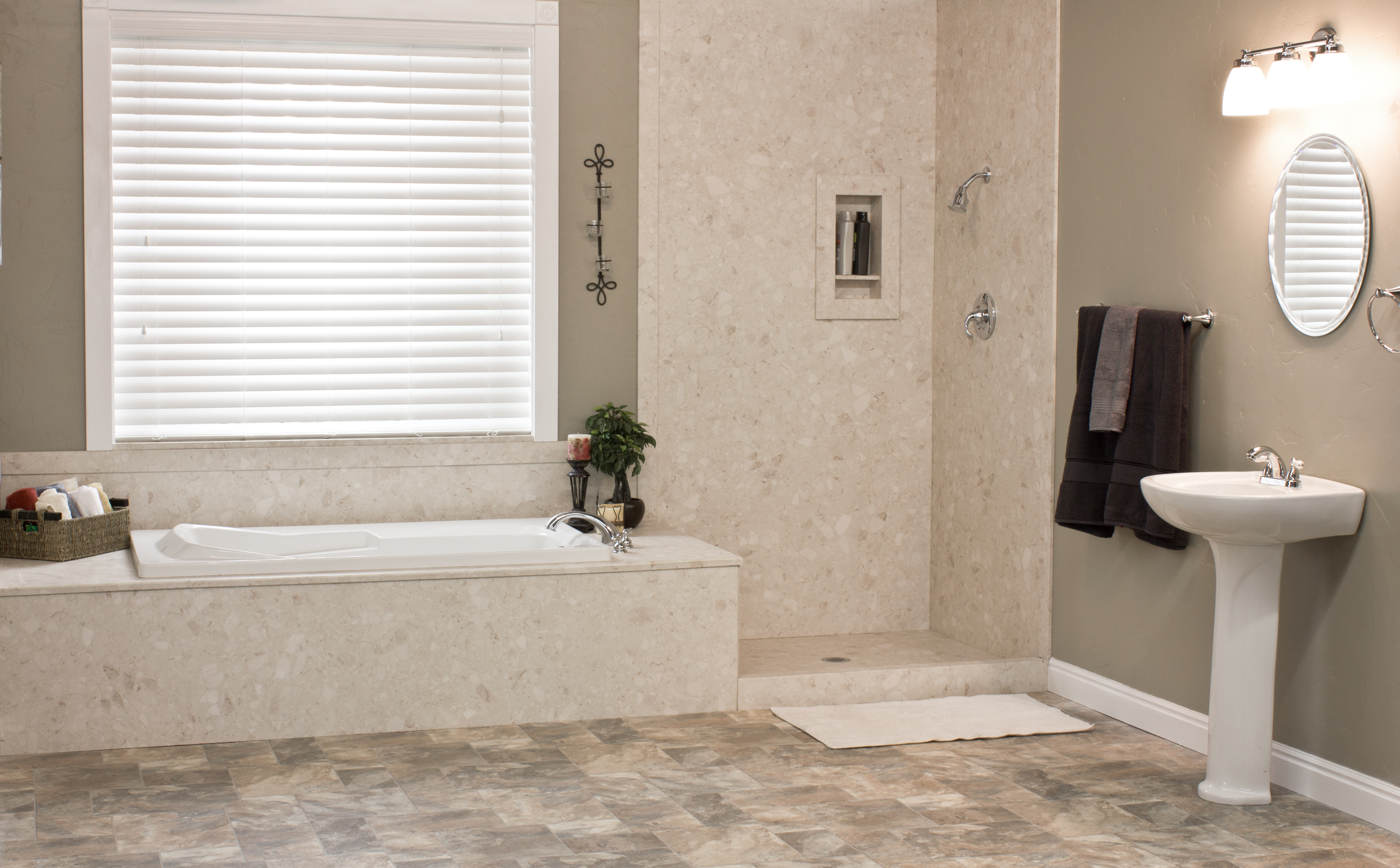 What S The Difference Between Tile And Acrylic American Home Remodeling