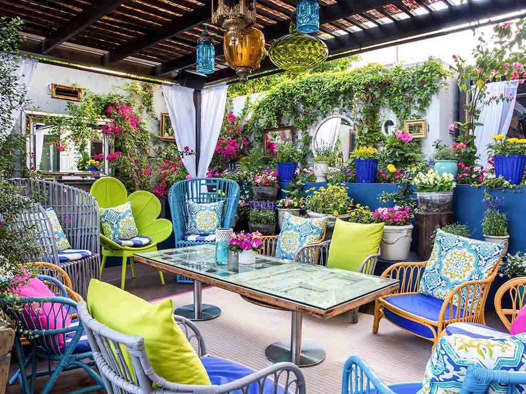 Garten Lounge Planer Luxushotel Los Angeles Sofitel Los Angeles At Beverly Hills