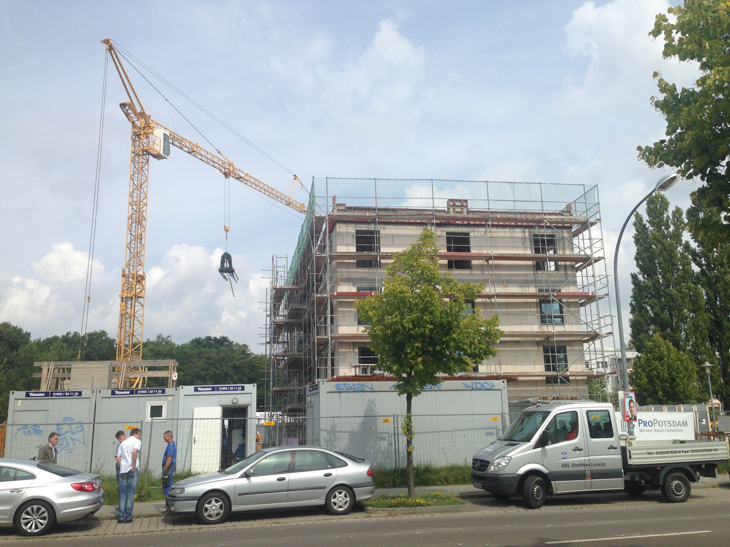 Ahw Ingenieure Topping Out Ceremony Quotmontevini Wohnstätte Potsdam Quot