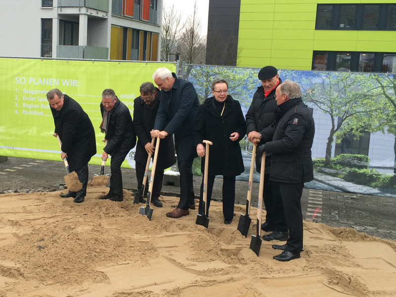 Ahw Ingenieure Spatenstich Innovationscentrum Bielefeld