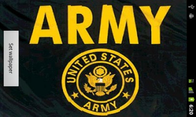 US Army Live Wallpaper - Android Informer. ARMY STRONG! Show your dedication on your Android ...