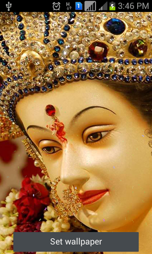 3d Diwali Live Wallpaper Ambe Live Wallpaper Android Informer Ambaji Mata Temple