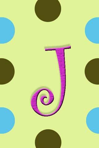 Monogram J Live Wallpaper Free Download - J.Gilbo