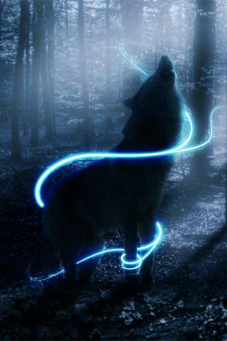 Magic Wallpaper Iphone X 3d Wolf Free Download Wolf3d Livewpcube