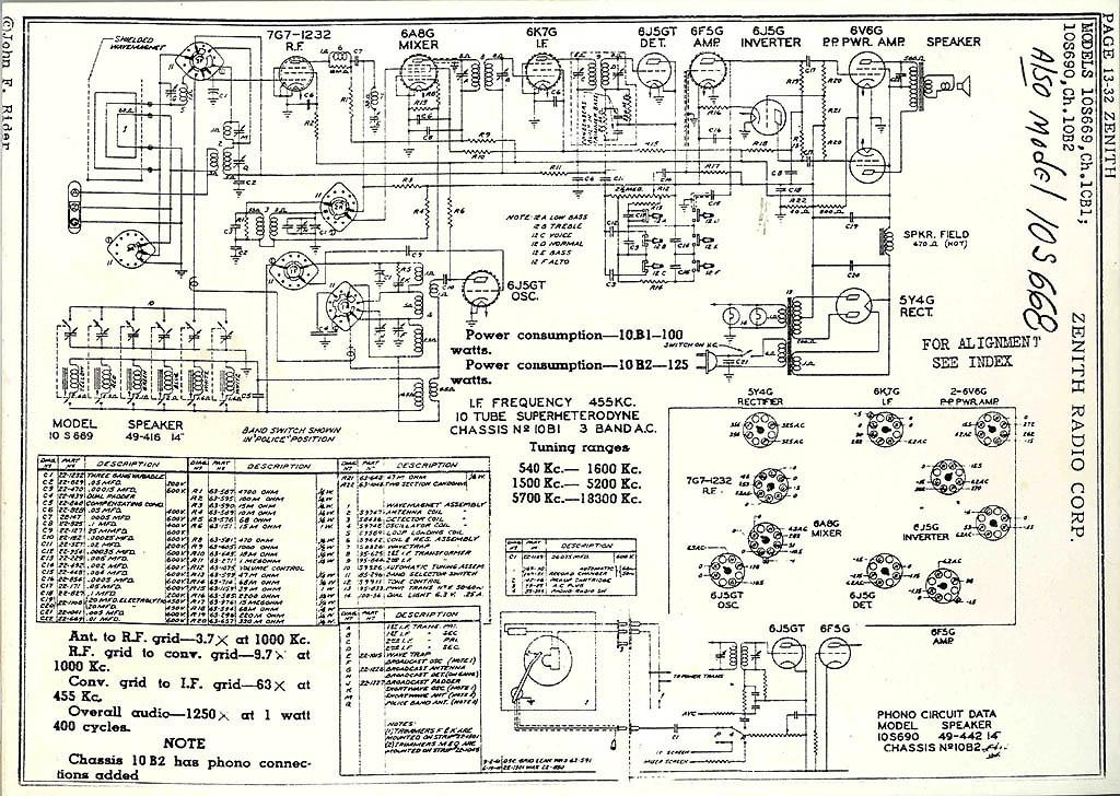 Vintage Console Stereo Wiring Diagram - DATA Circuit Diagram \u2022
