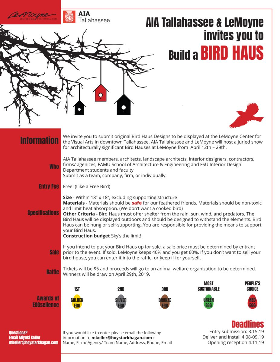 Zenki Haus Design Bird Haus Design Competition Aia Florida News