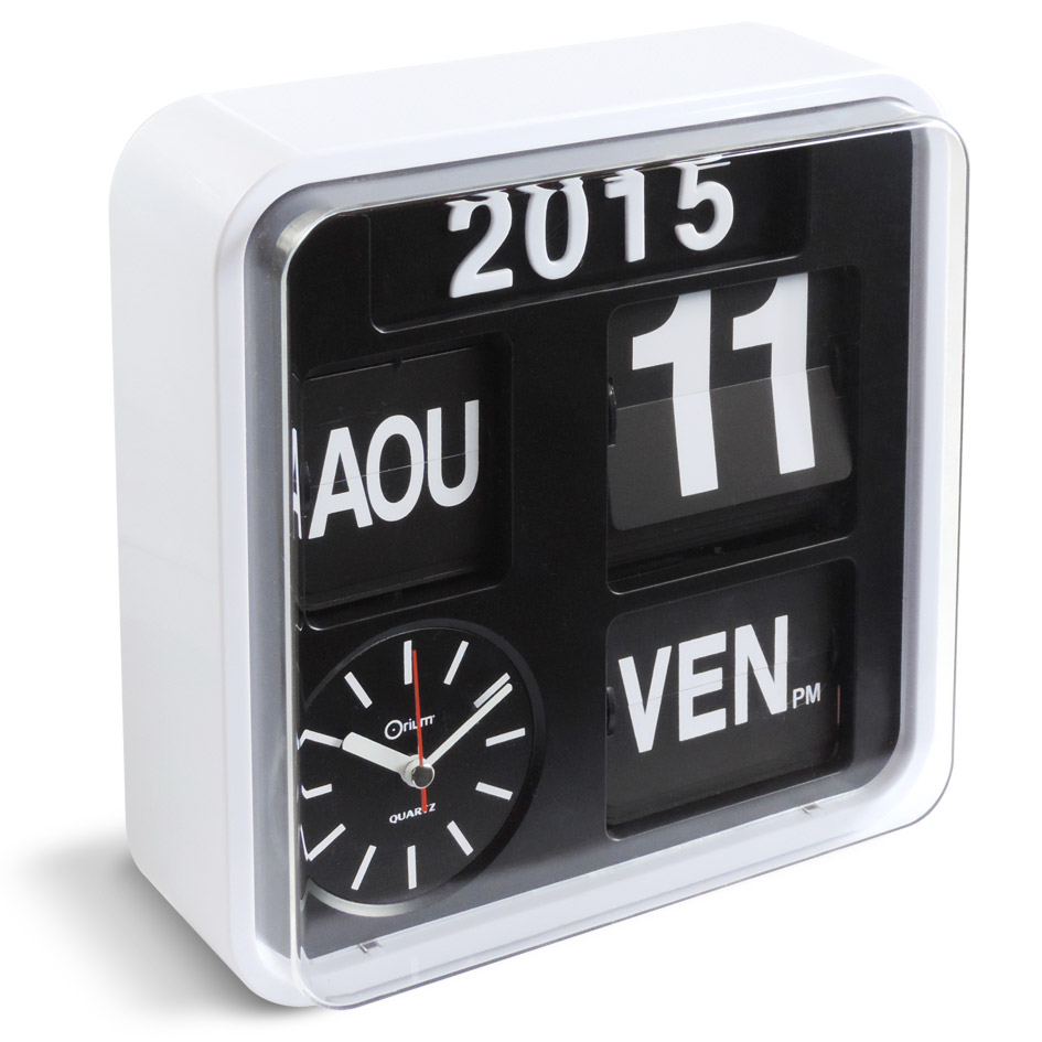 Fournisseur Decoration Interieur Horloge Calendrier Flip Flap | Aic International