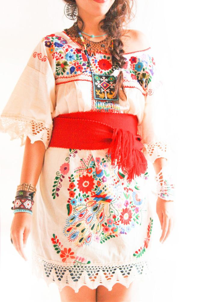 Baby Maxi Dress Handmade Mexican Embroidered Dresses And Vintage Treasures