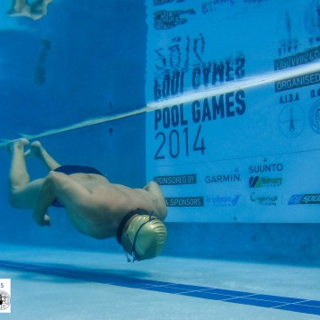 Freediving and Breath-hold- AIDA Cyprus Pool Games 2014-5