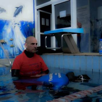 Freediving and Breath-hold- AIDA Cyprus Pool Games 2014-8