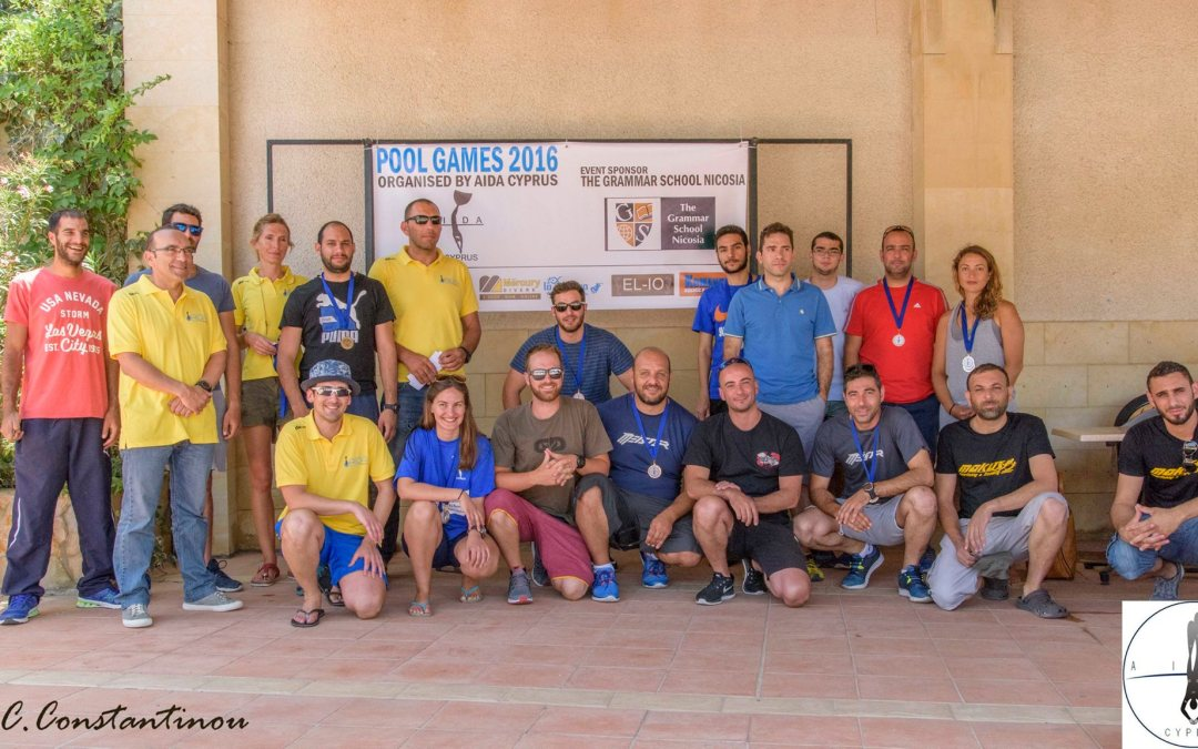 AIDA CYPRUS – POOL GAMES 2016 – RESULTS AND PICTURES!!