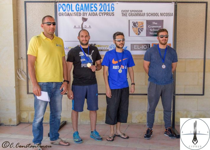 Aida Cyprus Pool Games 2016
