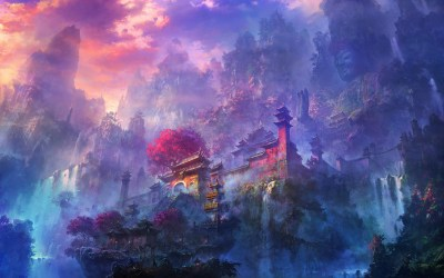 Visit the fascinating fantasy worlds of Li Shuxing - A Dribble of Ink