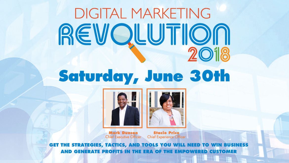 EVENT  Digital Marketing Revolution Workshop - June 30, 2018