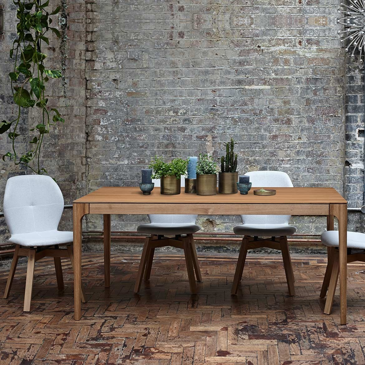 Extending Oak Table Zurich Oak Extending Dining Table
