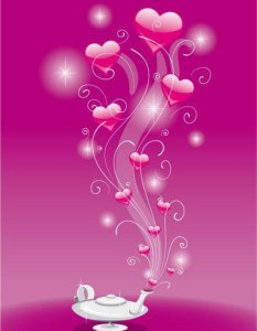 愛の魔法のランプ