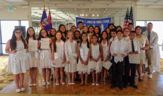 NJHS Induction Ceremony – 13 new NJHS Members!