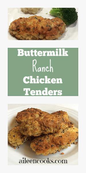Buttermilk Ranch Chicken Tenders - Aileen Cooks