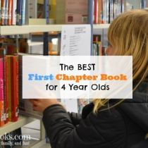 The best first read-a-loud chapter book for your 3 year old or 4 year old.