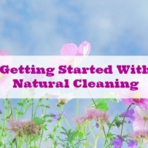 Getting Started With Natural Cleaning. Practical advice on how to start weeding out the toxic chemicals in your home and and replace them with homemade or quality store bought products that are safe for your family and eco-friendly.