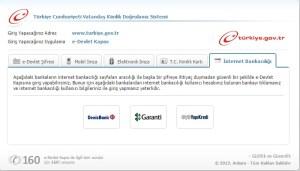 e devlet internet bankacılığı