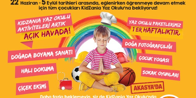 kidzania yaz okulu kampı detayları