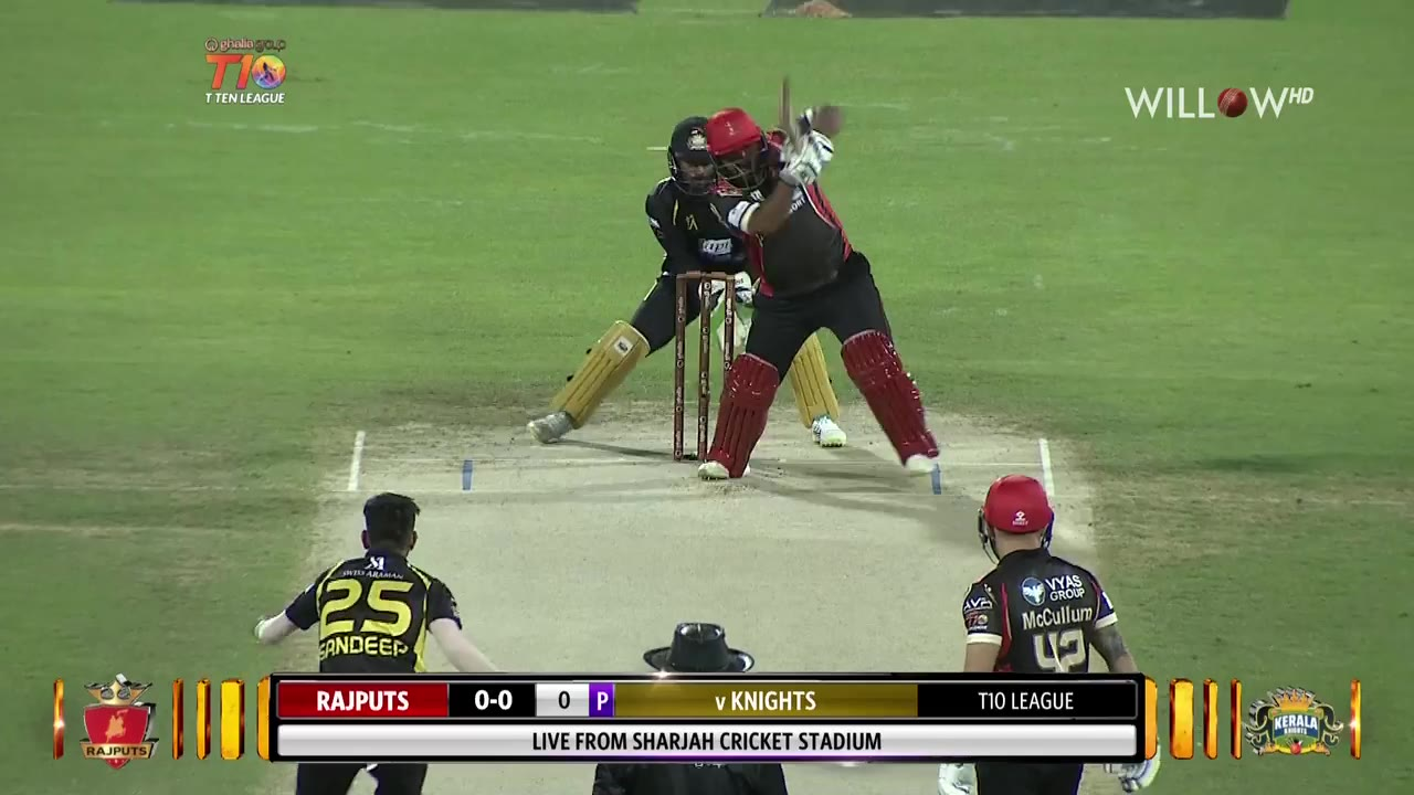 Live Match Highlights 11th Match Kerala Knights Vs Rajputs