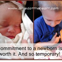 Commitment to a Newborn is Worth It