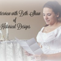 An Interview with Beth Shaw of Historical Designs