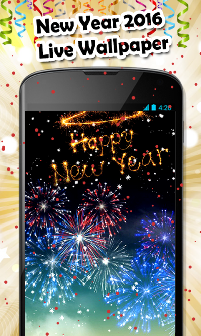 Happy New Year 2016 Live Wallpaper | New Year 2016 Wallpapers | New Year Fireworks ...