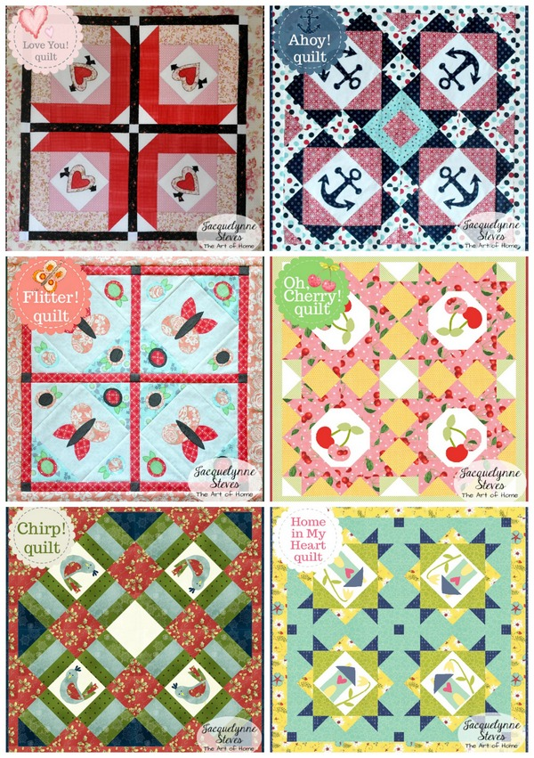 Small and Sweet Mini Quilt Club