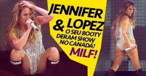 Jennifer Lopez: MILF abana o Booty no Canadá