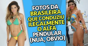 Fotos da Brasileira que Conduziu o Alfa Pendular NUA