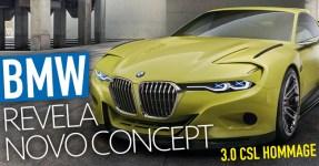 BMW Revela o Brutalíssimo 3.0 CSL Hommage