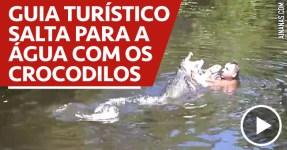 Guia Turístico Salta para Água Cheia de Crocodilos