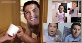 Ronaldo e Messi BFFs – Amigos para Sempre!