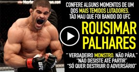 ROUSIMAR PALHARES: Um Monstro que Foi Banido do UFC