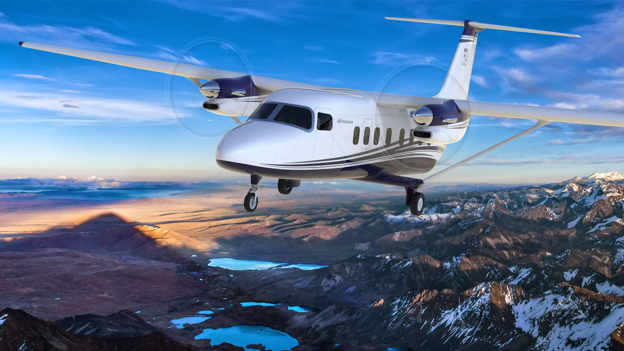 Cessna Plane Textron Launches Cessna Skycourier With 100 Plane Deal Business