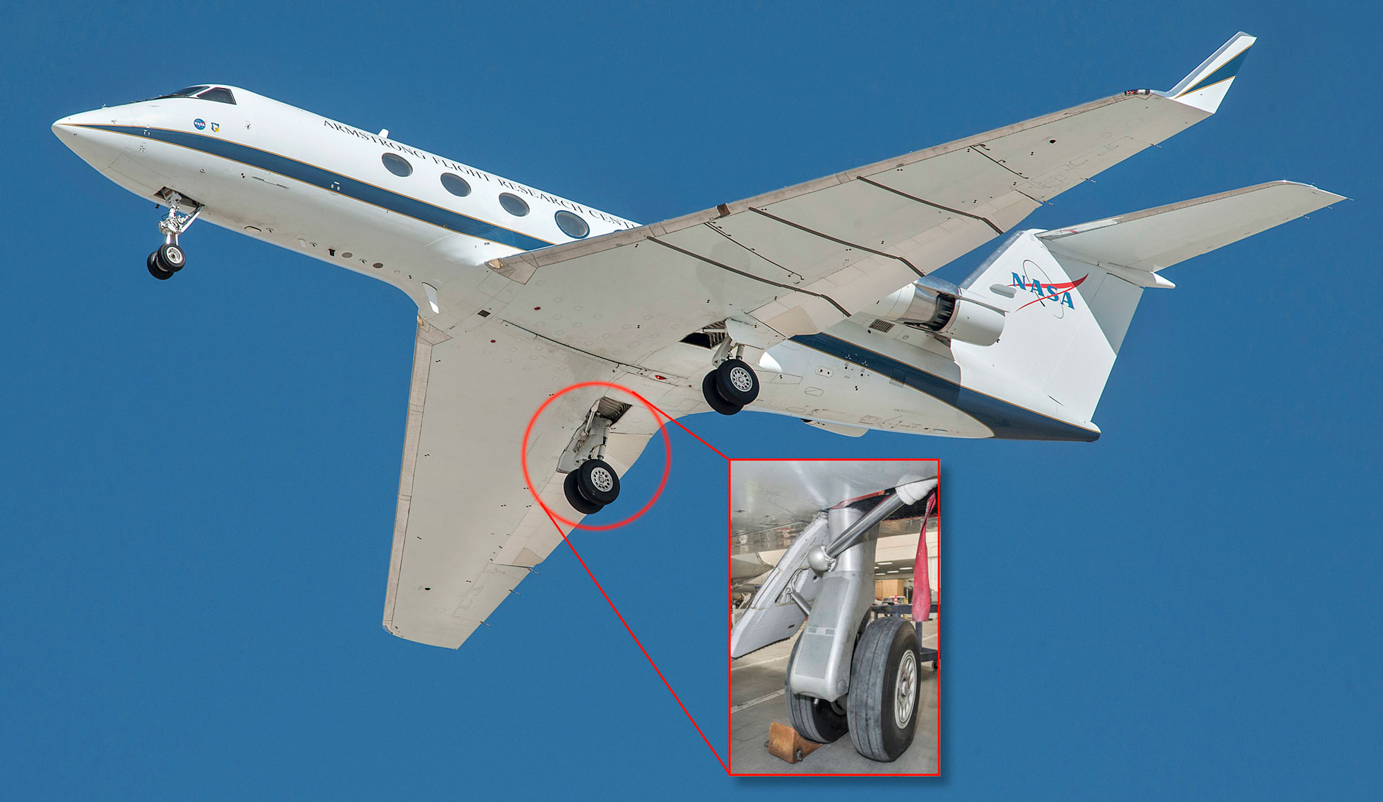 Flapon Nasa Tech Cuts Airframe Noise By 70 On Giii Testbed Business