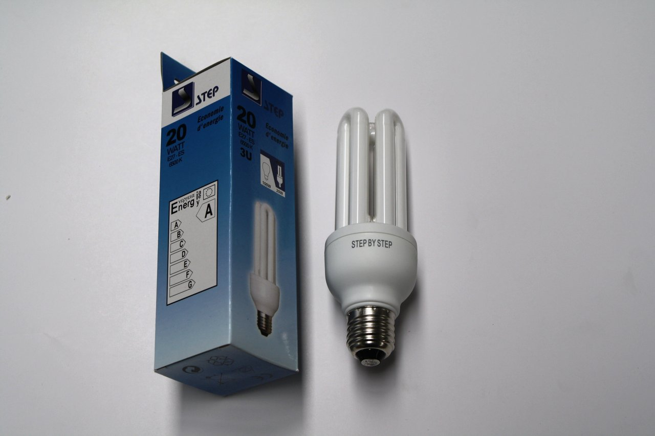 Ampoule 20w Ampoule Basse Consommation Step Eco Light 20w 100w 3u