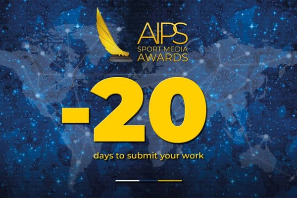 Twenty-day countdown The AIPS Sport Media Awards in 20 numbers