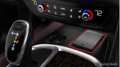 Qi Chargeur Buick Wireless Charging - Aircharge