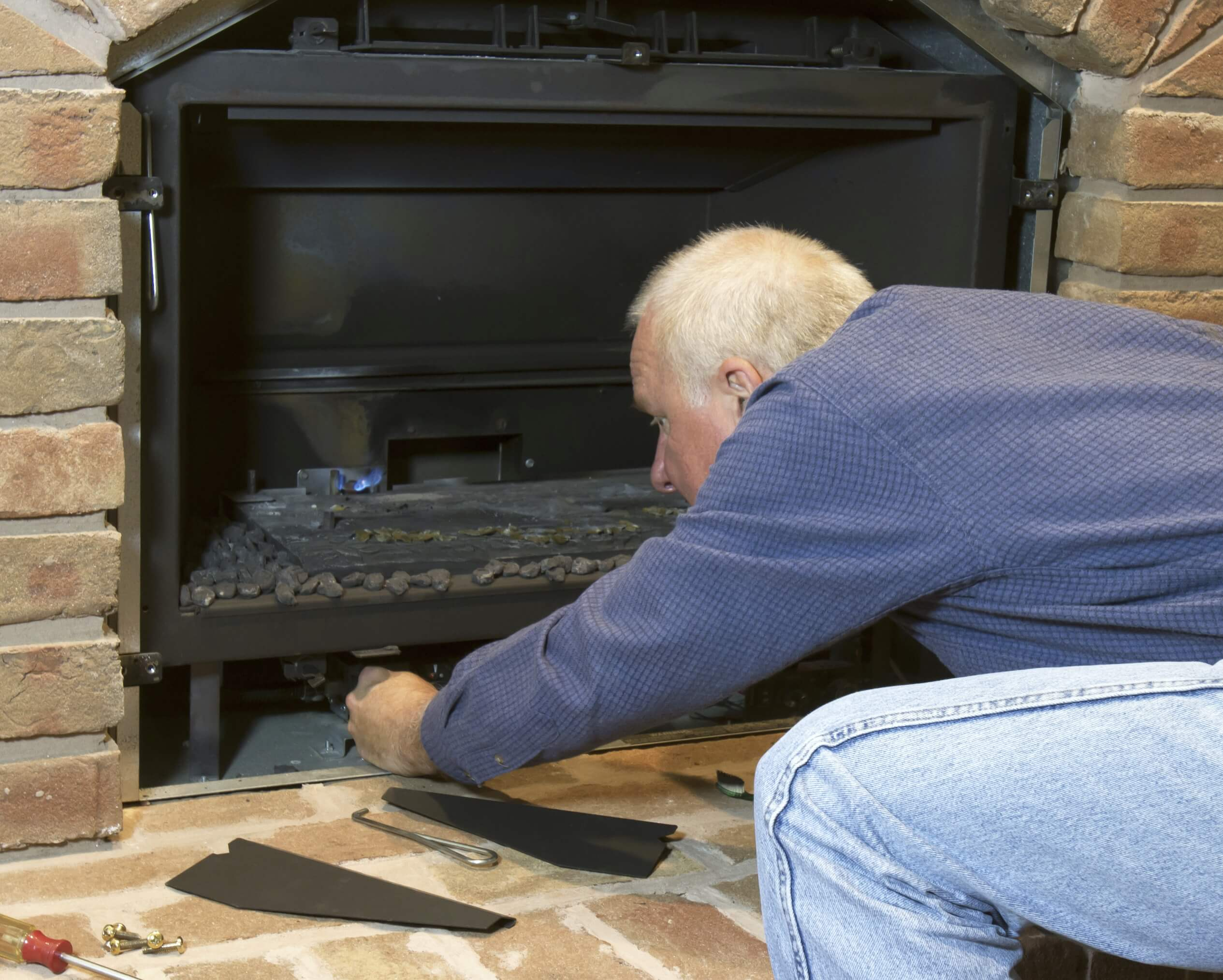 Propane Fireplace Repair Near Me Gas Fireplace Won T Stay Lit Magic Touch Mechanical