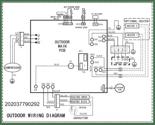 mitsubishi ductless wiring diagram