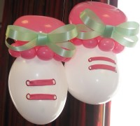 Baby Shower Balloon Decor | Party Favors Ideas